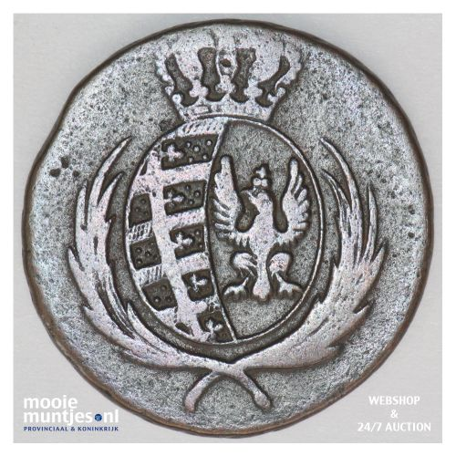 3 grosze - Poland 1812 (KM C# 82) (kant B)
