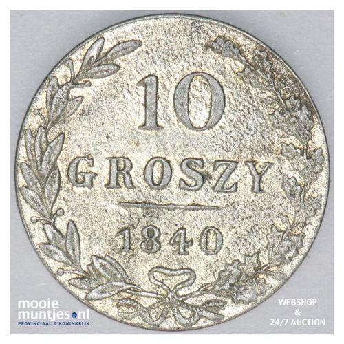 10 groszy - Poland 1840 (KM C# 113a) (kant A)