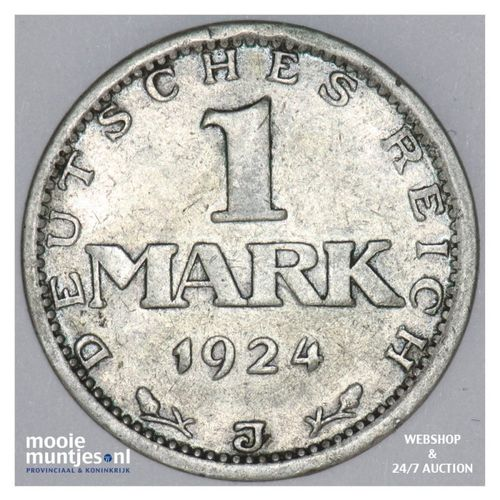 mark - Germany-Weimar Republic 1924 J (KM 42) (kant A)