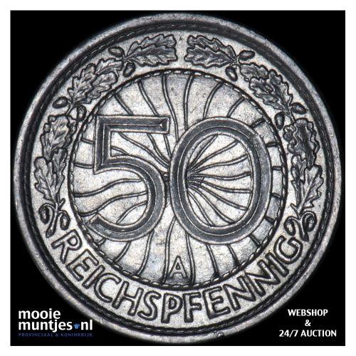 50 reichspfennig - Germany-Weimar Republic 1931 A (KM 49) (kant B)