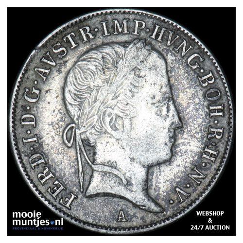 20 kreuzer - Austria 1848 A (KM 2208) (kant B)