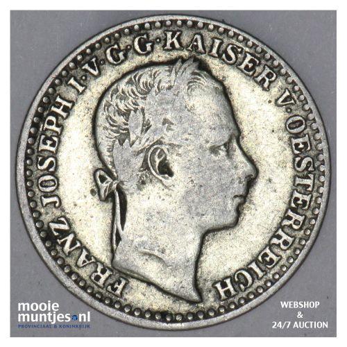 10 kreuzer - Austria 1860 V (KM 2204) (kant B)