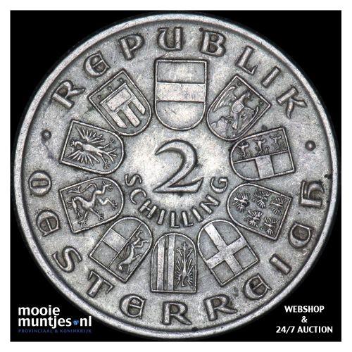 2 schilling - Austria 1928 (KM 2843) (kant B)