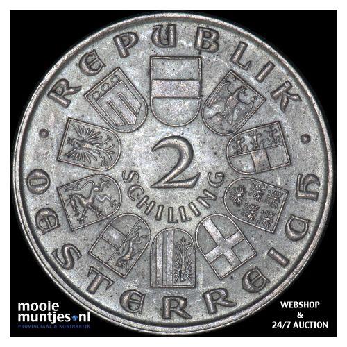 2 schilling - Austria 1929 (KM 2844) (kant B)