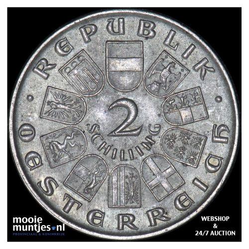 2 schilling - Austria 1930 (KM 2845) (kant B)