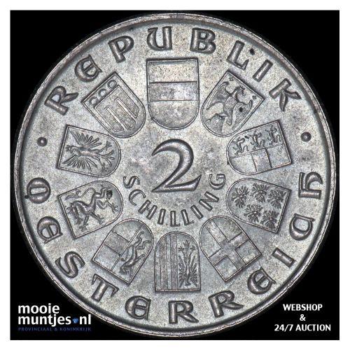 2 schilling - Austria 1932 (KM 2848) (kant B)