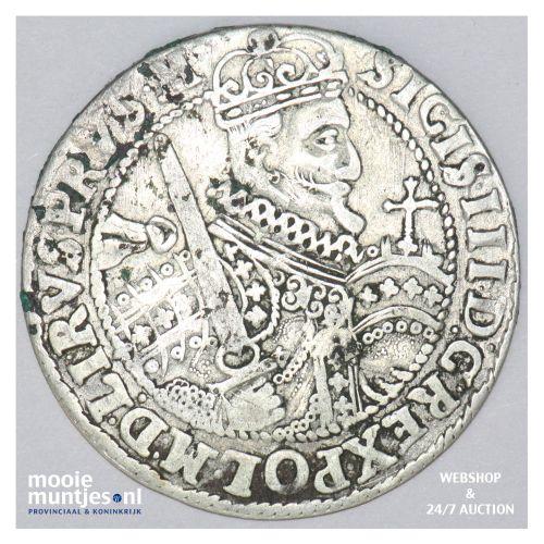 ort (18 groszy - 1/4 thaler) - Poland 1623 (KM 37) (kant B)