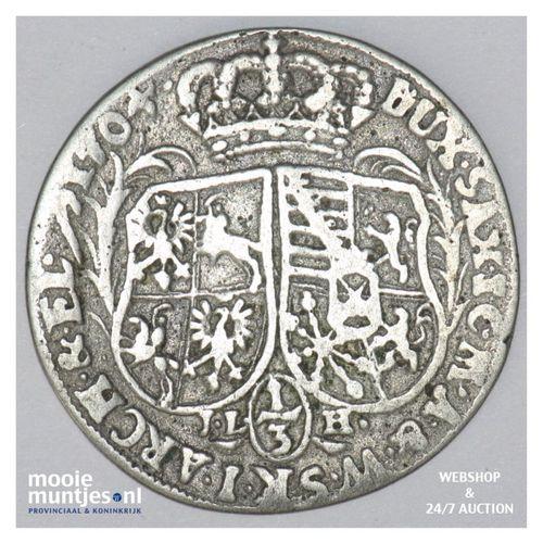 1/3 thaler (1/2 gulden) - German States/Saxony-Albertine 1704 (KM 723) (kant A)