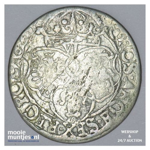 6 groschen - Poland 1623 (KM 42) (kant A)