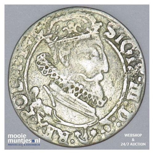 6 groschen - Poland 1623 (KM 42) (kant B)
