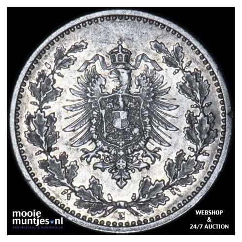 50 pfennig - Germany 1877 E (KM 8) (kant B)