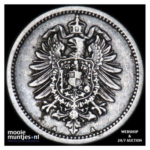 50 pfennig - Germany 1874 A (KM 6) (kant B)