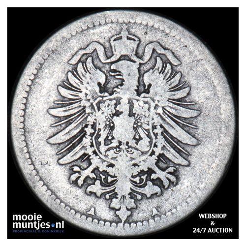 50 pfennig - Germany 1876 A (KM 6) (kant B)