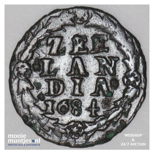 Zeeland - Duit - 1684 (kant A)