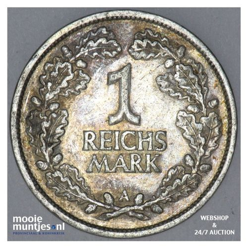 reichsmark - Germany-Weimar Republic 1925 A (KM 44) (kant A)