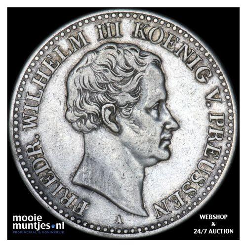 thaler - German States/Prussia 1830 A (KM 419) (kant B)