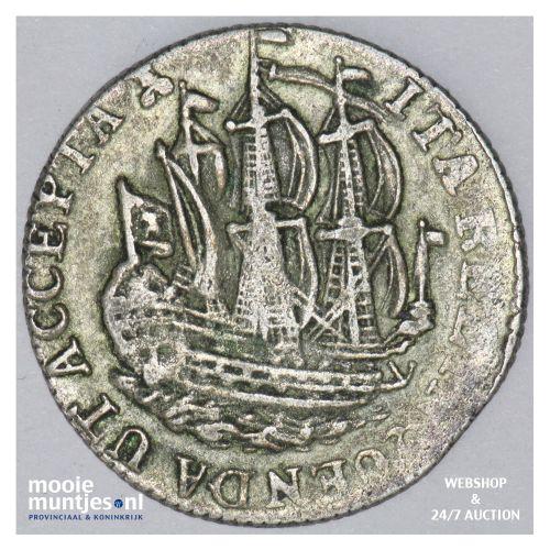 Zeeland - Scheepjesschelling - 1780 over 70 (kant B)