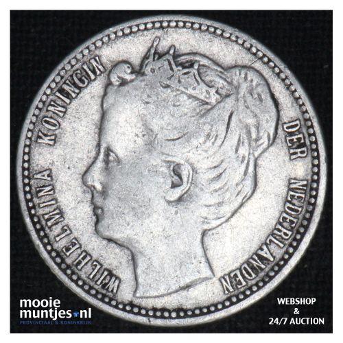 Curaçao - 1/4 gulden - 1901 (kant B)