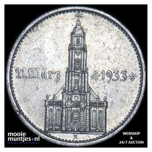 5 reichsmark - Germany-Third Reich 1934 A (KM 82) (kant B)