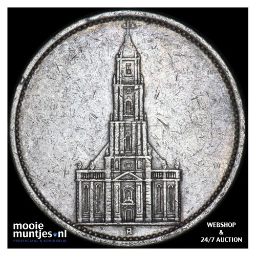 5 reichsmark - Germany-Third Reich 1935 A (KM 83) (kant B)