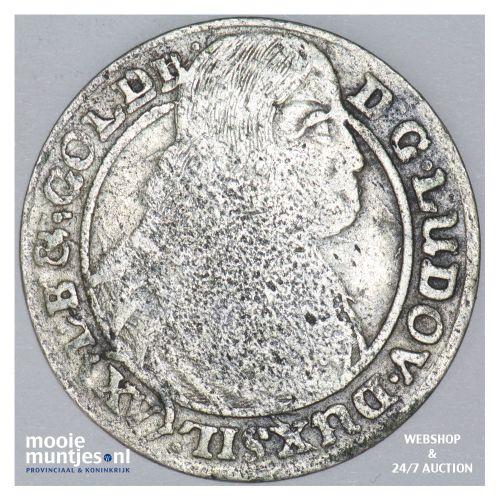 15 kreuzer (1/6 thaler) - German States/Silesia-Liegnitz-Brieg 1663 (KM 430) (ka