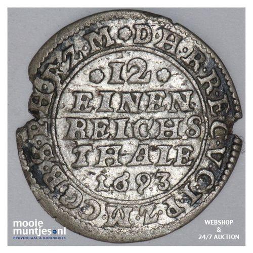 1/12 thaler (doppelgroschen) - German States/Brandenburg   1693 (KM 553) (kant A