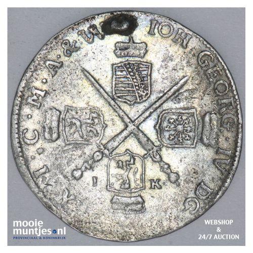 1/12 thaler (doppelgroschen) - German States/Saxony-Albertine 1692 (KM 611) (kan