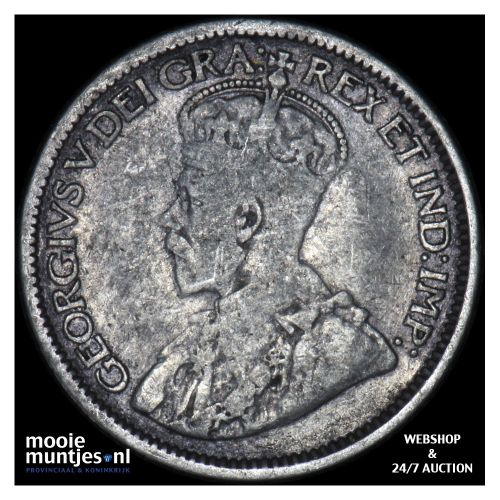 10 cents - Canada 1912 (KM 23) (kant B)