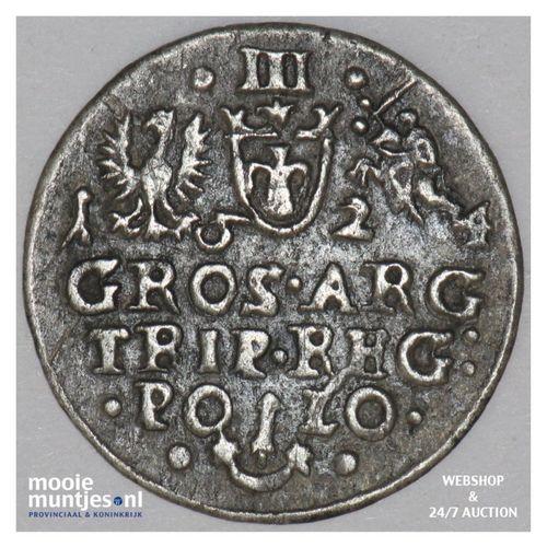 3 groschen - Poland 1624 (KM 31) (kant A)