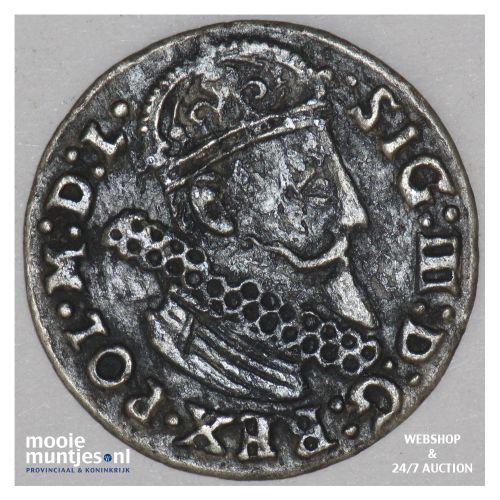 3 groschen - Poland 1624 (KM 31) (kant B)