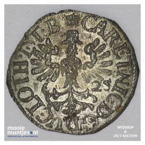 2 denier - German States/Lorraine 1625 (KM 13) (kant A)