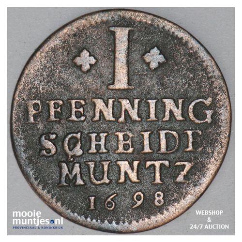 pfennig - German States/Brunswick-Luneburg-Celle 1698 (KM 353) (kant A)
