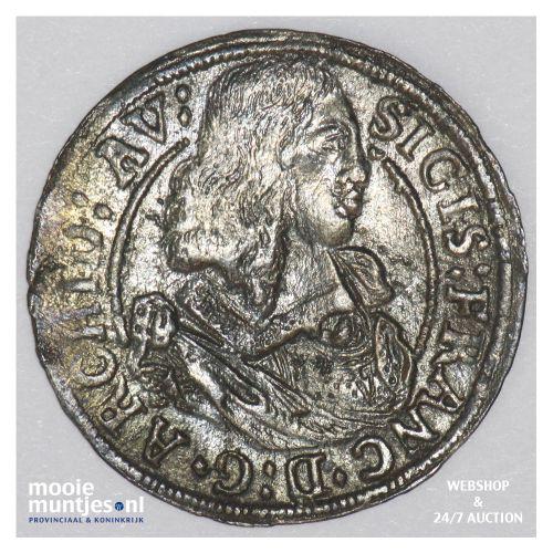 3 kreuzer - Austria 1663 (KM 1209) (kant B)