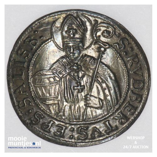 3 kreuzer - Austrian States/Salzburg 1681 (KM 228) (kant B)