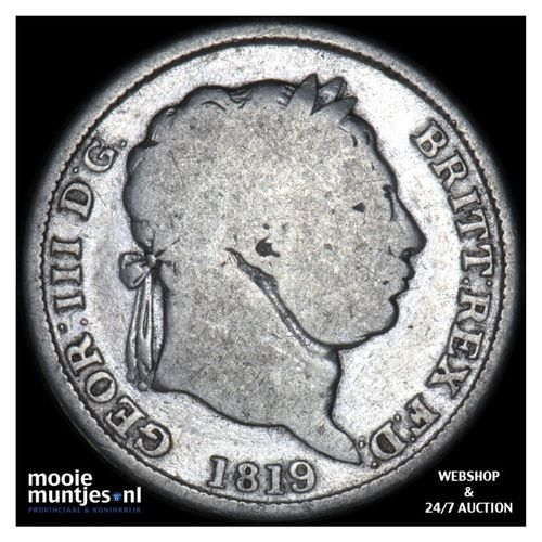 shilling - Great Britain 1819 (KM 666) (kant A)