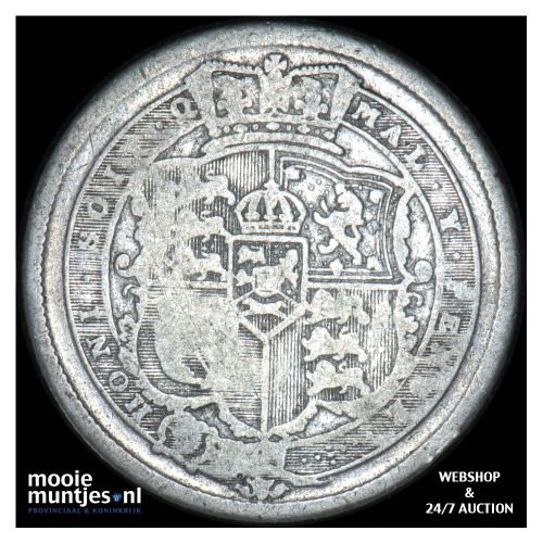 shilling - Great Britain 1819 (KM 666) (kant B)