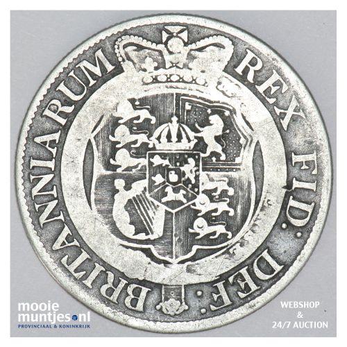 1/2 crown - Great Britain 1819 (KM 672) (kant B)
