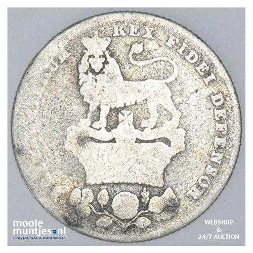 shilling - Great Britain 1825 (KM 687) (kant B)