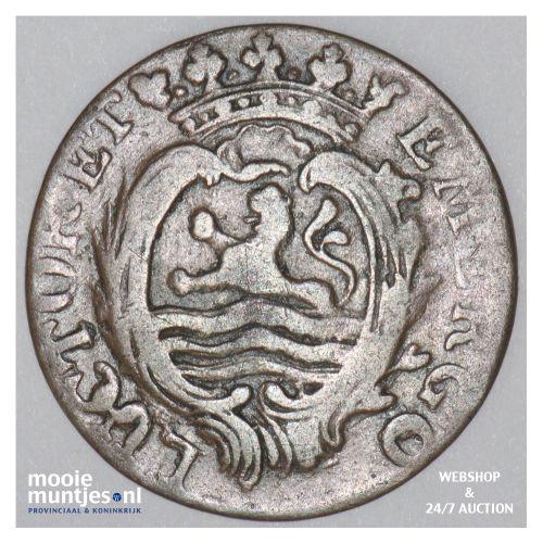 Zeeland - Duit - 1786 (kant B)