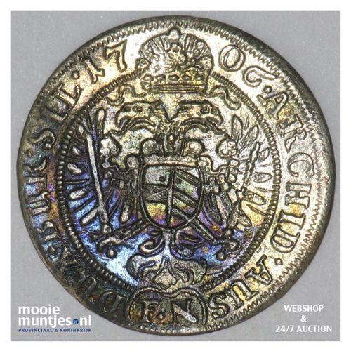 3 kreuzer - German States/Silesia 1706 (KM 687) (kant A)