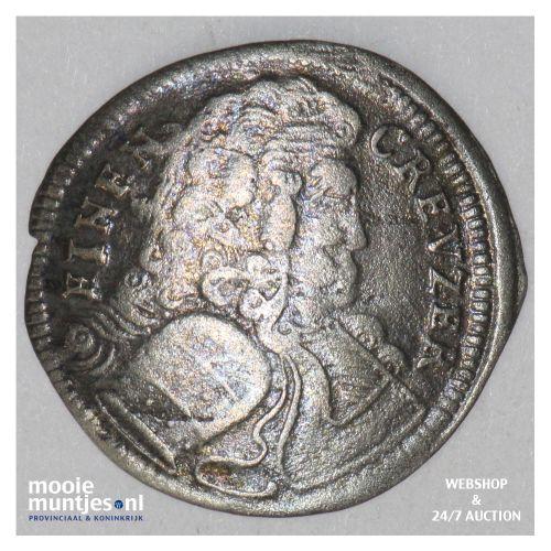 kreuzer - German States/Brandenburg-Bayreuth 1710 (KM 115) (kant B)