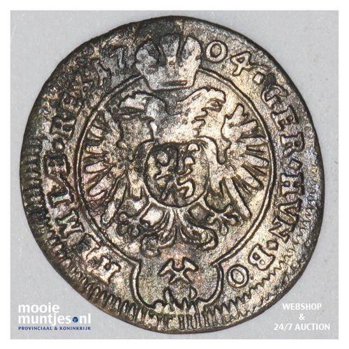 kreuzer - Bohemia 1704 (KM 582) (kant A)
