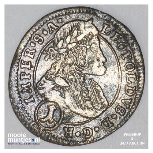 kreuzer - Bohemia 1704 (KM 582) (kant B)