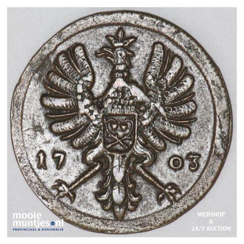 4 pfennig - German States/Rietberg 1703 (KM 99) (kant A)