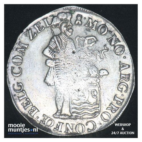 Zeeland - Zilveren dukaat - 1697 (kant B)