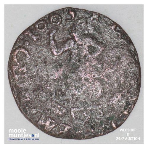 Zeeland - Duit - 1663 (kant A)