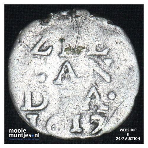 Zeeland - Dubbele stuiver - 1617 (kant A)