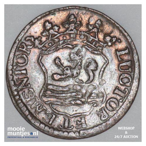 Zeeland - Duit - 1754 ementor (kant B)