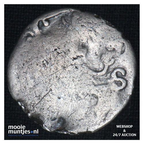 Zeeland - Dubbele stuiver - 1617 (kant B)