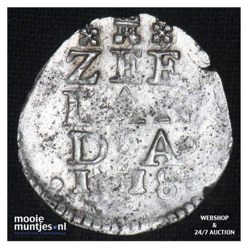 Zeeland - Dubbele stuiver - 1618 (kant A)